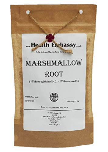 Echter Eibisch Wurzel 50g (Althea Officinalis L. - Altheae Radix) / Marshmallow Root 50g - Health Embassy - 100% Natural