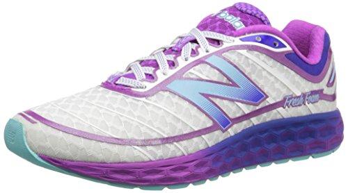 New Balance, Nbw980sp, Scarpe Sportive, Donna Blanc / Violet