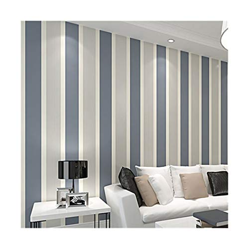 Moderno minimalista astratto,Carta da parati a righe larga non tessuta ecologica moderna minimalista camera da letto soggiorno TV sfondo muro carta, grigio scuro