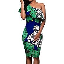 vestidos de fiesta cortos Switchali moda vestidos verano mujer diariamente Sin mangas Mini vestido de novia vintage casual de las mujeres de senora atractivo Vestidos para mujer baratos
