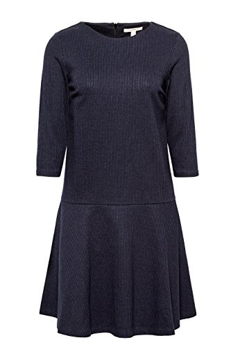ESPRIT Damen Kleid Mehrfarbig (Navy 400)