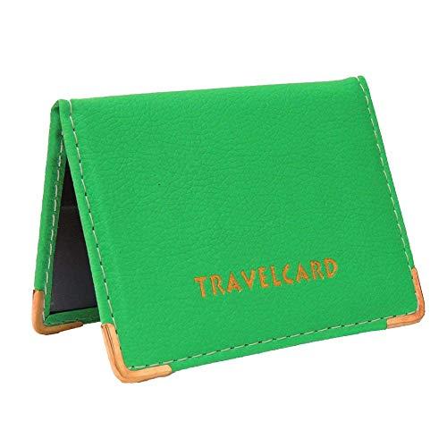 Kwik Buy Reise-Bus-Ausweis Card ID Credit Card Wallet Hülle Cover Etui grün