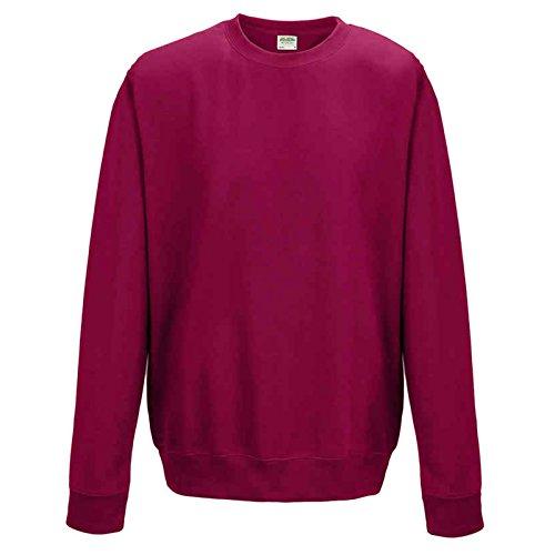 AWDis Herren Modern Sweatshirt Gr. XL, Cranberry -
