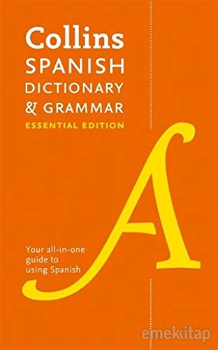 Collins Spanish Dictionary and Grammar Essential Edition: Two books in one (Collins Dictionary & Grammar)