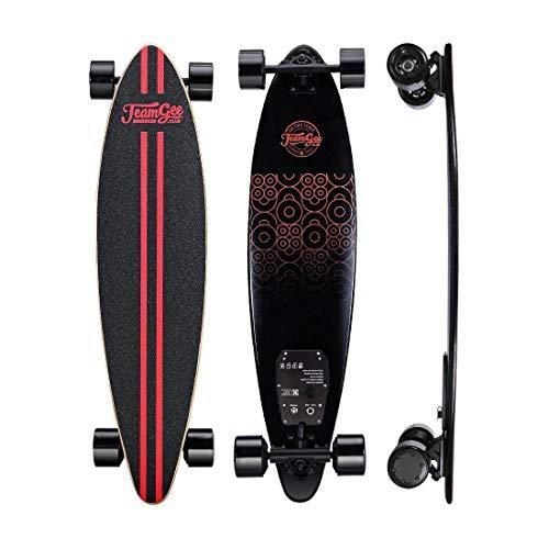 Electric Cruiser Skateboard Longboard Motor Dual con Control Remoto Patineta de Deporte Profesional Skateboard eléctrico Longboard Top Speed Alcance de...