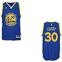 Stephen Curry Golden State Warriors Adidas NBA Swingman Jersey Maglia - Blue 39e25b2c3e83