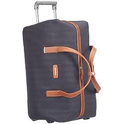 Samsonite Lite DLX 55/20 Bolsa de Viaje con Ruedas, 53.5 litros, Color Azul