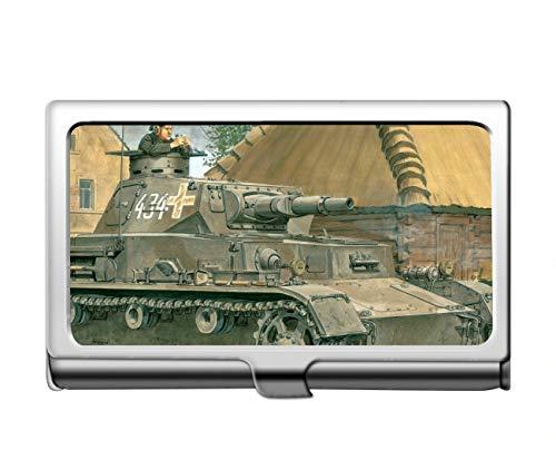 Professioneller Geschäftskreditkartenkoffer/ID-Koffer, Militärischer Panzer IV Professionelle Visitenkarte