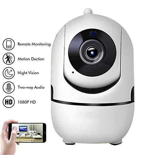 1080P Cloud Wireless IP Camera Tracking Intelligente di Human Home Security Sorveglianza CCTV Rete Mini WiFi Mini Cam Motion Detection Visione Notturna 32G SD Card