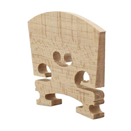 8Eninide 1 Pc Exquisite Cello Bridge 1/2 Maple Wood Professional Cello Accessories