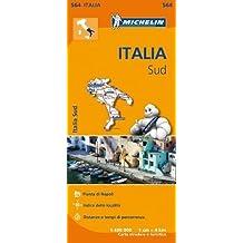 Carta stradale. Italia Sud