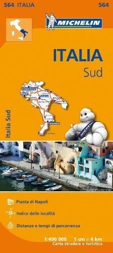 Mapa Regional Italia Sud (Carte regionali) por MICHELIN