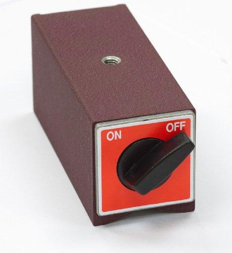 Viwanda ON / OFF Schaltmagnet mit V Aussparung, kein Elektromagnet ! 120x50x55mm - max. 160 kg (1569N) -