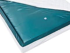 Idea Regalo - Beliani Materasso ad Acqua Senza Riduzione delle Ondulazioni 160 x 200 Mono
