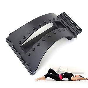 HIXGB Zurück Massage Magic Bahre Fitnessgeräte Stretch Entspannen Mate Stretcher Lordosenstütze Wirbelsäule Schmerzlinderung Chiropraktik Körperpflege Werkzeug