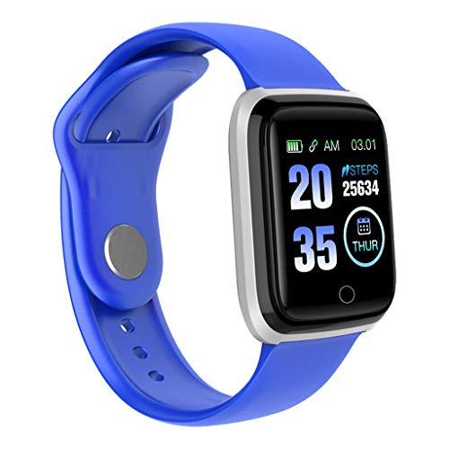 iCerber Smartwatch, Fitness Armband Fitness Tracker Wasserdicht IPX7 Fitness Watch mit Herzfrequenz Messgerät Schlafmonitor Intelligentes Armband Fitness Uhr Stoppuhr Kalorienzähler für Damen Herren