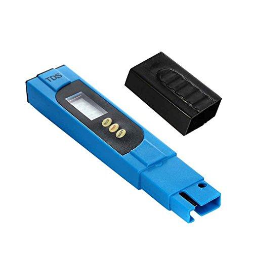 LafyHo TDS Gelöste Stoffe Wasserqualität Tester Pen 0-9990 ppm Bereich 1 ppm Auflösung +/- 2% Genauigkeit