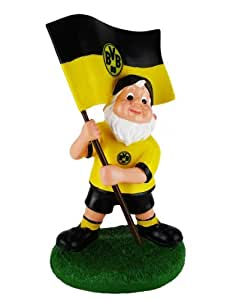 BVB Borussia Dortmund Gartenzwerg Fahne