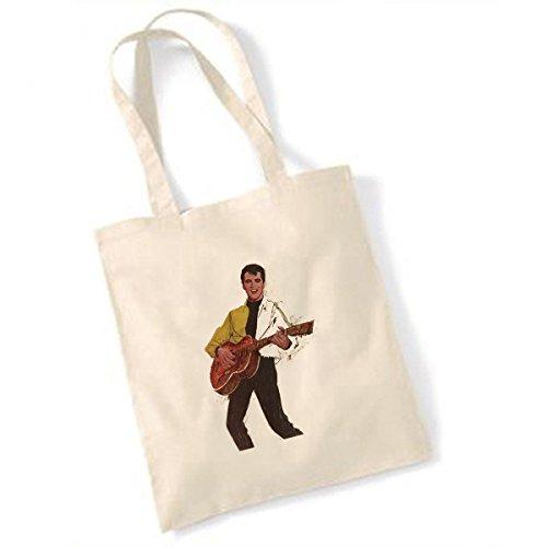 Elvis Presley peinture sac naturel