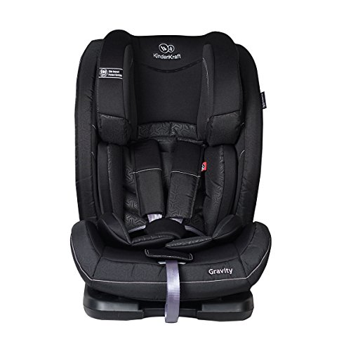 Kinderkraft Gravity Kinderautositz Autositz Kindersitz Autokindersitz 9 bis 36 kg Gruppe 1 2 3 Schwarz