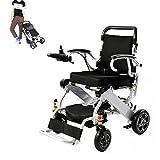 Elektrischer Rollstuh Mit Mächtig Und Leise Bürstenlose Motoren, Aluminiumrahmen Und Faltbar Kompakt Mobilitätshilfe Rollstuhl