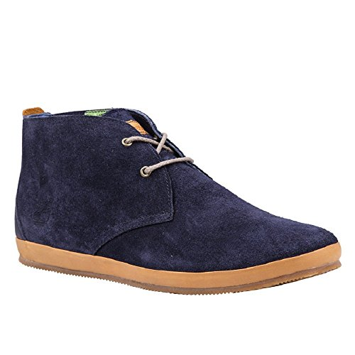 Timberland Earthkeepers Woodcliff Mens Leather Chukka - Navy Flesh Out - 11