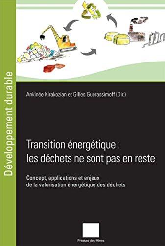 Transition énergétique : les déchets ne sont pas en reste : concept, applications et enjeux de la valorisation énergétique des déchets / Ankinée Kirakozian et Gilles Guerassimoff (Dir.) |