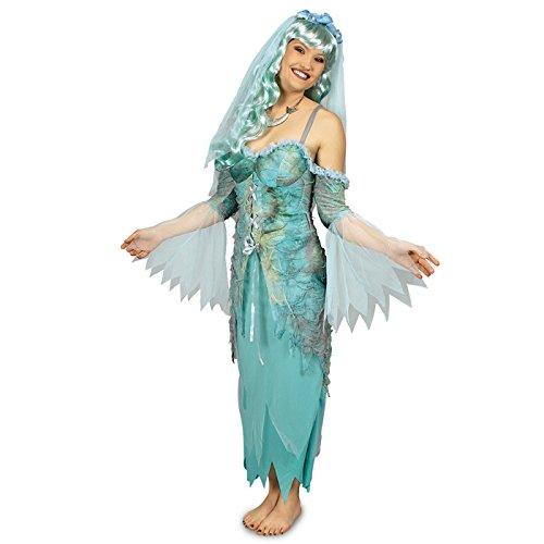 Kostüm Meerjungfrau Kleine Damen (NEU Damen-Kostüm Undine, 2-teilig, Größe)