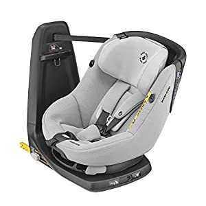 Maxi-Cosi Axissfix Toddler Car Seat, Swivel Car Seat, 4 Months - 4 Years, 61-105 cm, Authentic Grey   4