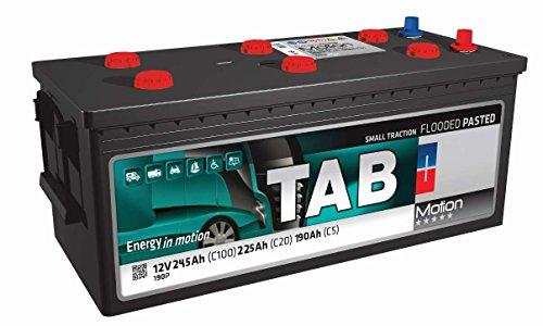 Solarbatterie 250 Ah / 12 V TAB Motion Batterien für eine tiefe Entladung zur Solarinstallation