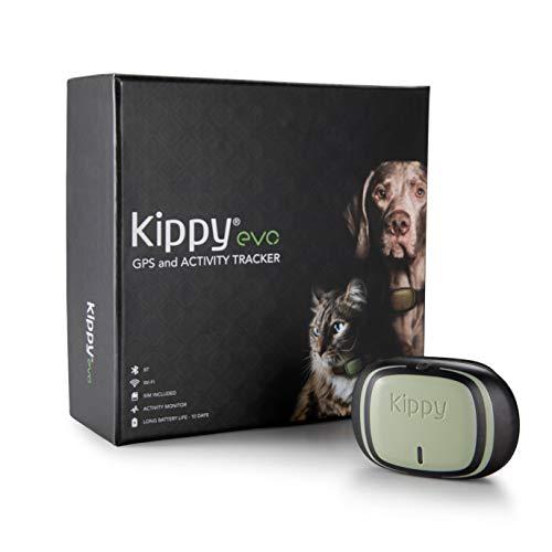 Kippy EVO, Il nuovo GPS and Activity Monitor per cani e gatti, 38 gr, Impermeabile,...
