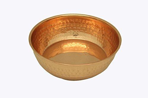 Imlistreet faite à la main Doré décoratifs Bol Cuivre Antique Finition Coupelle faite à la main pour décor