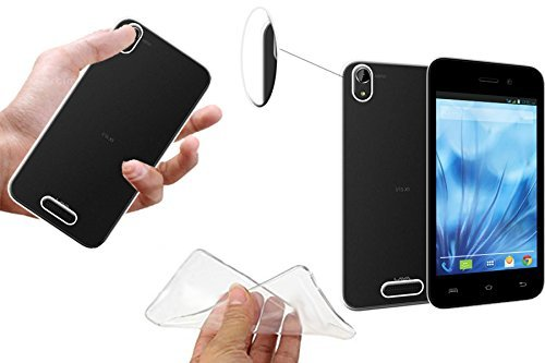 Lava Iris X1 Mini / Lava Iris X1 Atom Transparent Soft Back Cover.  available at amazon for Rs.149