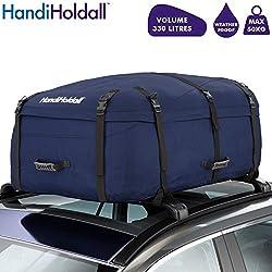 HandiHoldall Grand Coffre de Toit de véhicule résistant aux intempéries 330 l