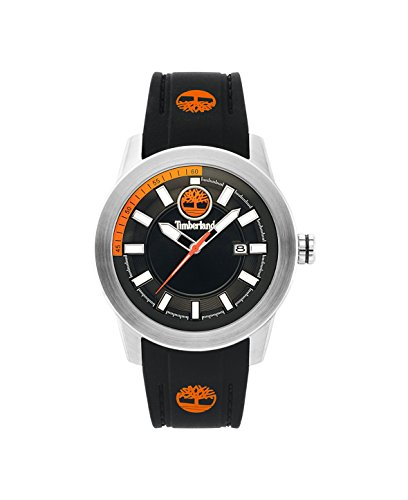 02d66e0379f1 Timberland Reloj Análogo clásico para Hombre de Cuarzo con Correa en  Silicona TBL.15355JS