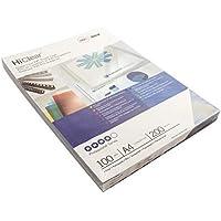 Kensington Portadas encuad. HiClear A4 PVC 200 micras supertrans. (100) - Cubierta (Transparente)