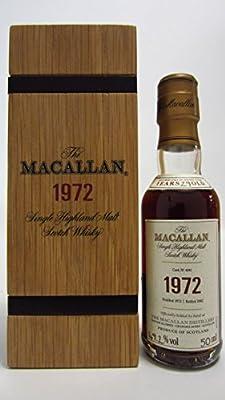 Macallan - Fine & Rare Miniature - 1972 29 year old Whisky