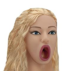 Idea Regalo - Bambola Gonfiabile Realistica Bionda Con Vagina Ano Bocca - Masturbatore Realistico