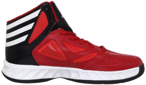 adidas Performance  Lift Off 2013,  Scarpe da basket uomo rosso (Rouge - Rot (LIGHT SCARLET / RUNNING WHITE FTW / BLACK 1))