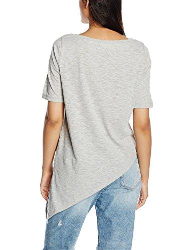 ONLY Damen T-Shirt Grau (Light Grey Melange)