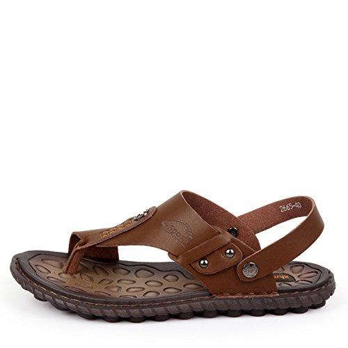 Sommer Flip-Flops Sandalen/Aktuelle casual Thong Sandal/Schuhe Dual-Use-Sandalen B XLfybPF