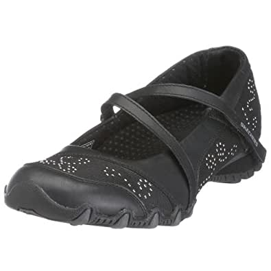 Skechers Womens ACTIVE BIKERS BLUSH Black 21492 BLK 4 UK