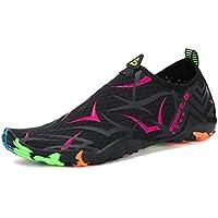 Voovix Calcetines de Agua Transpirable Aqua Unisex Zapatos de Agua Descalza de  Secado Rápido Zapatillas Livianas 95430d416f9