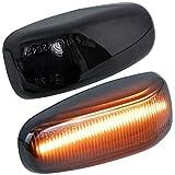 phil trade LED SEITENBLINKER schwarz kompatibel für Mercedes W202 S202 W210 S210 A208 C208 R170 7231-1