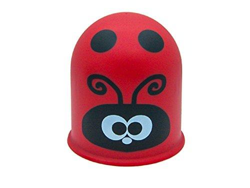 Schutzkappe Anhängerkupplung Towbar Cap Funny Gift Insekt Marienkäfer/Ladybug