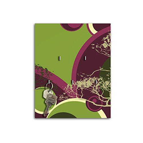 Plaque à clés avec crochets Design Turi Board Clé sb658
