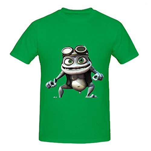Crazy Frog Custom T Shirts Design Round Neck XX-Large (Crazy T-shirts Frog)