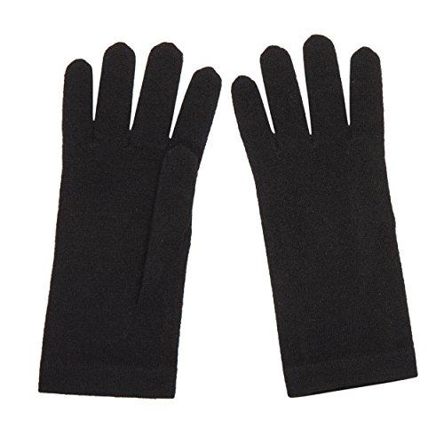 Lomond Damen Handschuhe Gr. Einheitsgröße, schwarz - Schwarz Pure Cashmere Damen-handschuhe