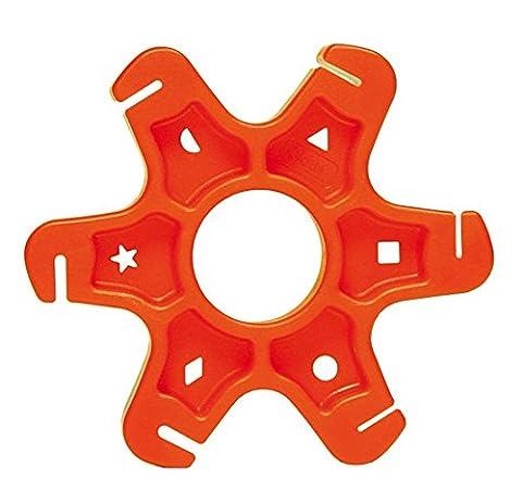 spoke holder for flat spokes