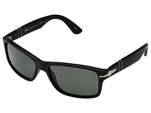 Persol Herren 0Po3195S 104258 58 Sonnenbrille, Schwarz (Black/Greenpolar)